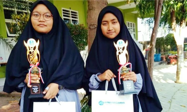 Santri SMP eLKISI Raih Juara di Mojokerto English Festival 2019