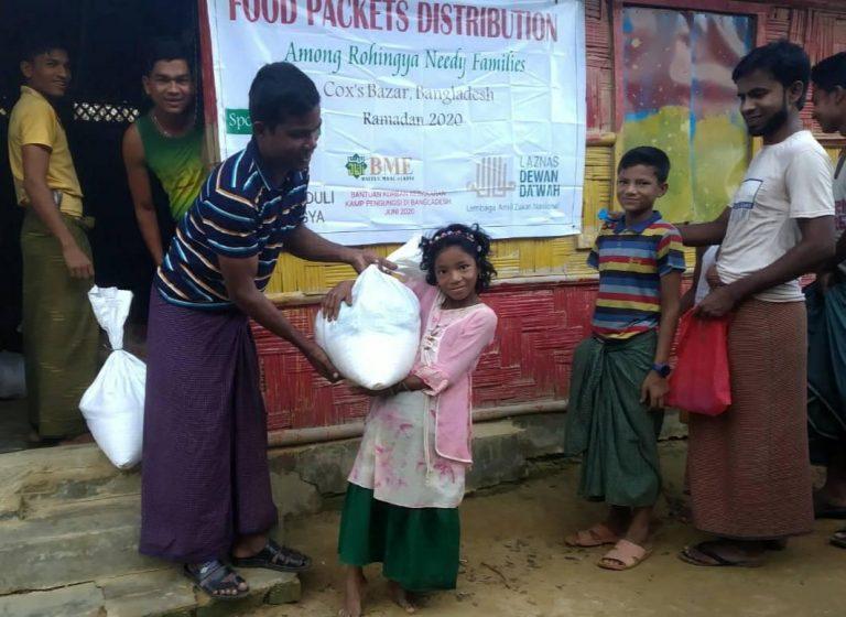eLKISI Bantu Korban Kebakaran Kamp Rohingya