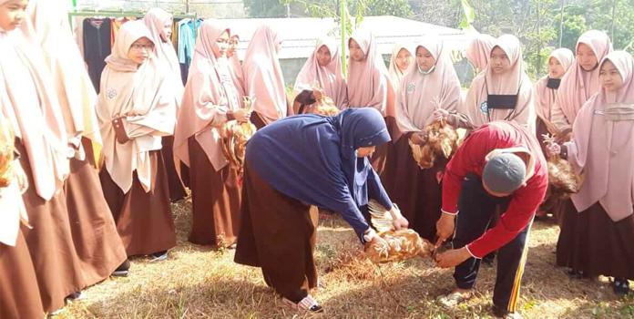 Dauroh Fiqih dan Integrated Learning, Penyembelihan Hewan Secara Syar'i