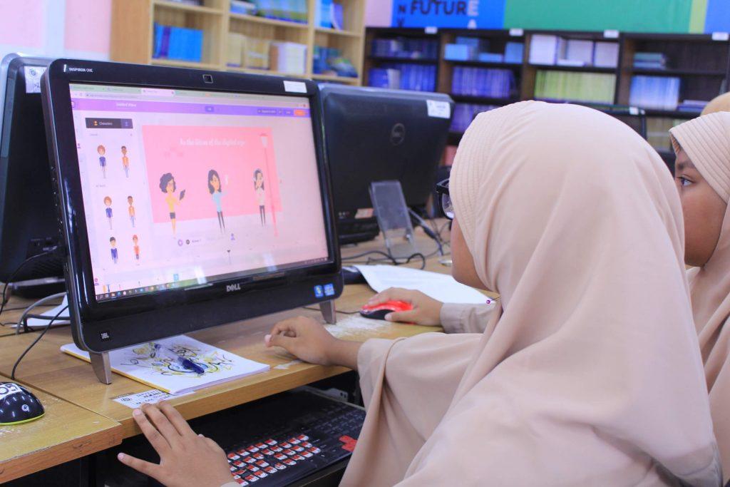 Komunitas Animasi Santri Putri eLKISI IIBS